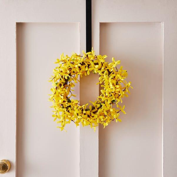 Forsythia Wreath  Yellow