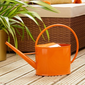 Elements 5L Orange Watering Can