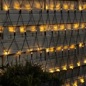 1.4m 160 LED Net Outdoor String Lights