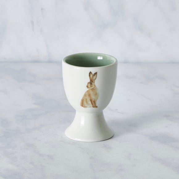 Homestead Hare Egg Cup White
