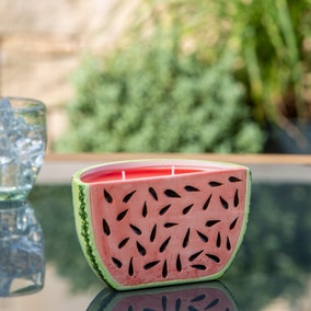 Watermelon Outdoor Citronella Candle