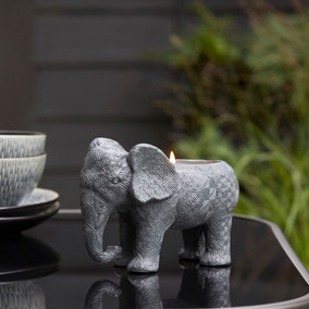Elephant Outdoor Citronella Candle