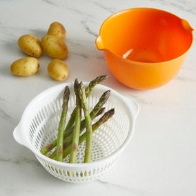 Handy Kitchen Bowl with Strainer