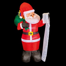 1.8M Inflatable Santa with Name List