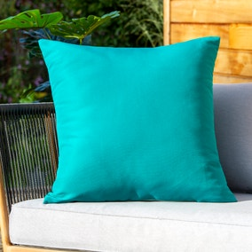 Elements Teal Water Resistant Outdoor Cushion