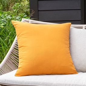 Ochre Water Resistant Outdoor Cushion