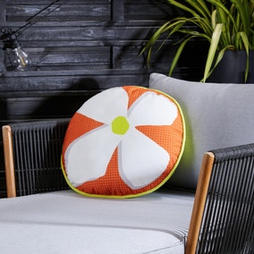 Elements Daisy Circle Water Resistant Outdoor Cushion