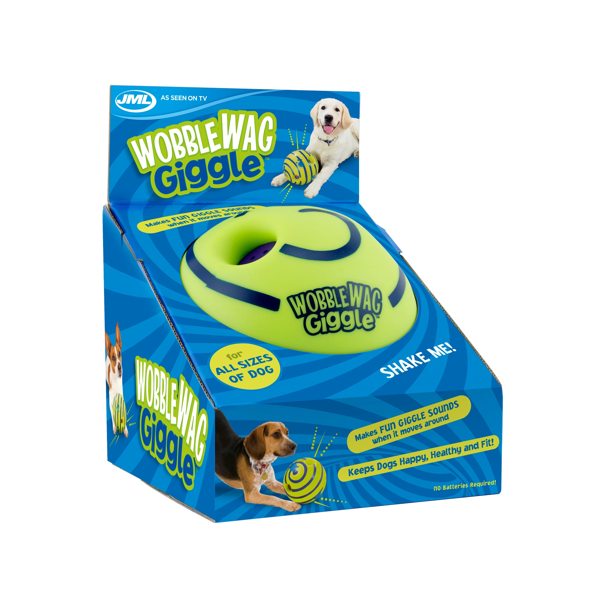 Wobble Wag Giggle Ball MultiColoured