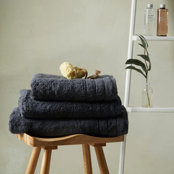 Hotel Egyptian Cotton Charcoal Towel  undefined
