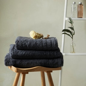 Hotel Egyptian Cotton Charcoal Towel
