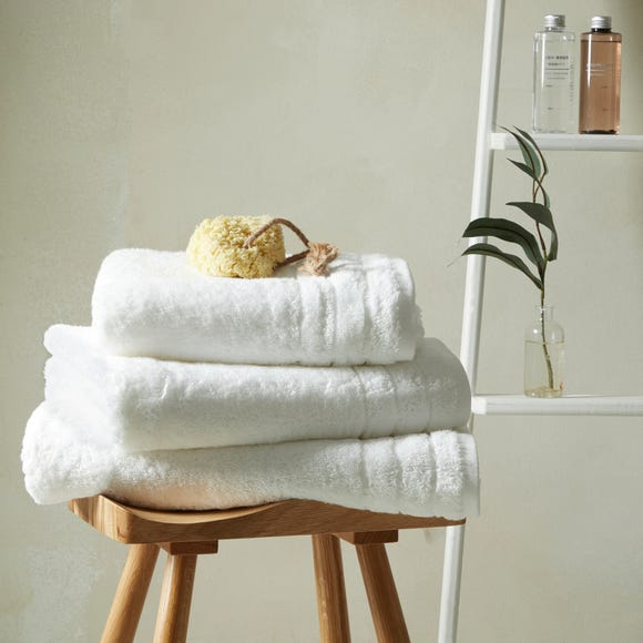 Hotel Egyptian Cotton White Towel  undefined