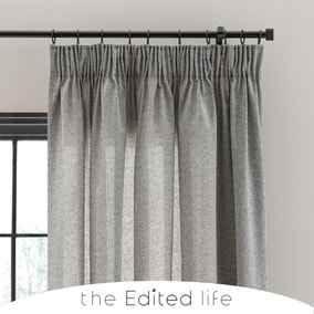 Recycled Weave 2Way Monochrome Curtains