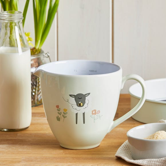 Penny the Sheep Measuring Jug Mint (Green)
