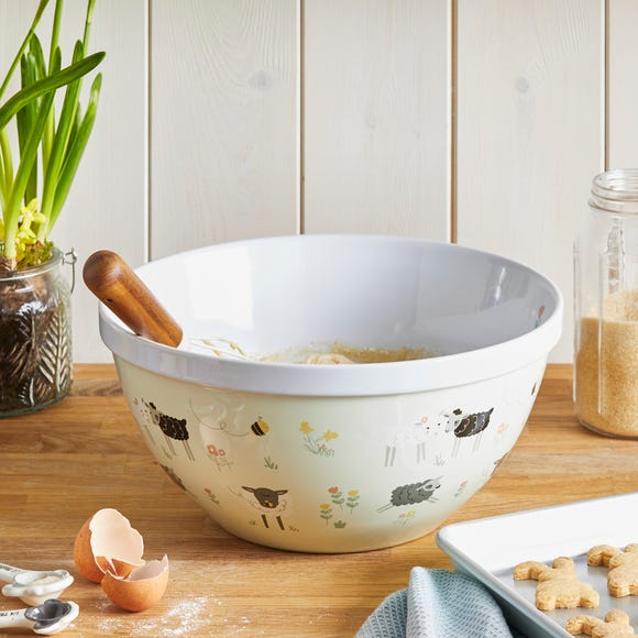 Penny the Sheep Mixing Bowl Mint (Green)