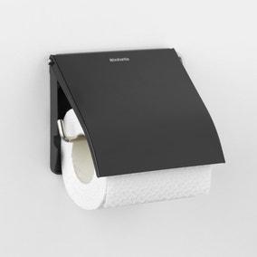 Brabantia Matt Black Toilet Roll Holder