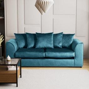 Blake 3 Seater Velvet Sofa