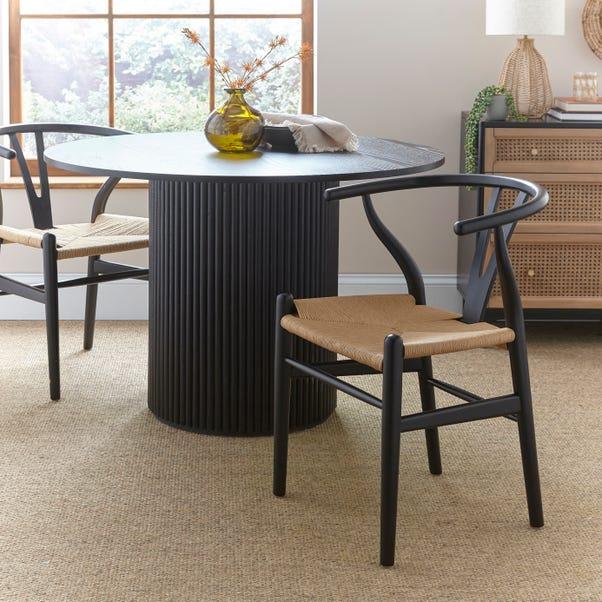 Lara Black Chair  Black