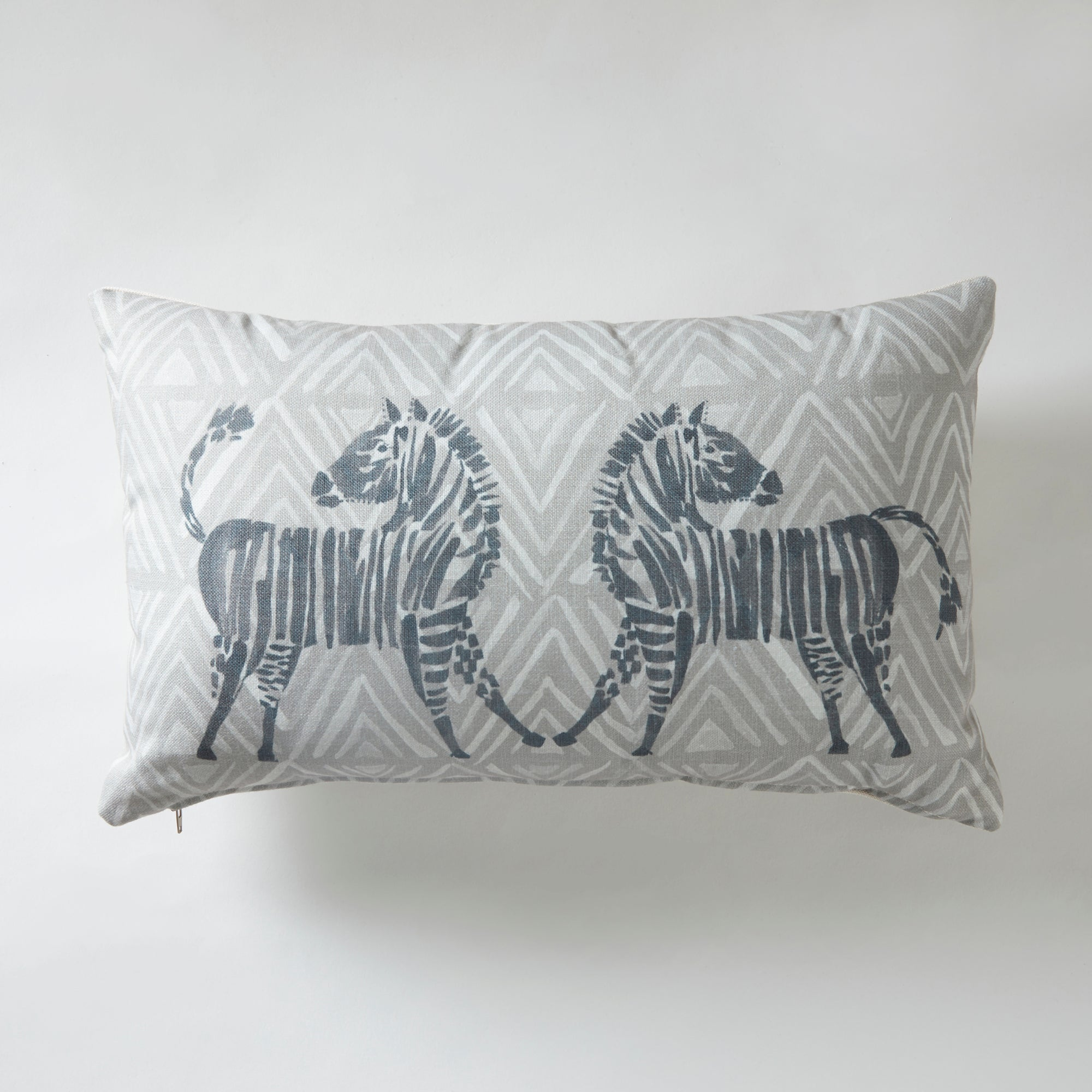 Click to view product details and reviews for Dancing Zebra Cushion Grey.