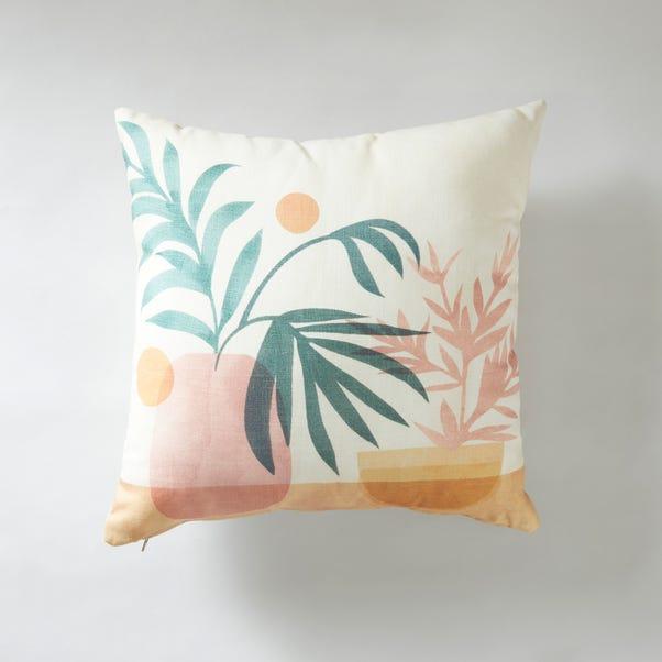 Plant Pots Cushion MultiColoured undefined