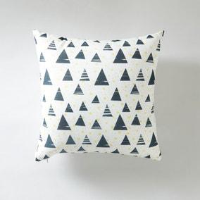 Dottie and Triangle Cushion