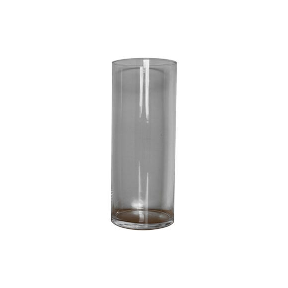 Tall Glass Vase 30cm Clear