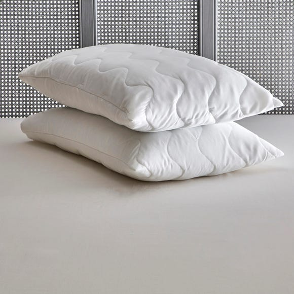 Cosy Comfort Pair of Pillow Protectors White