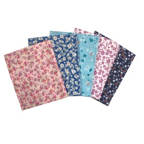 Pack of 5 Ditsy Florals Fat Quarters