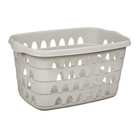 Rectangle Laundry Basket Cool Grey