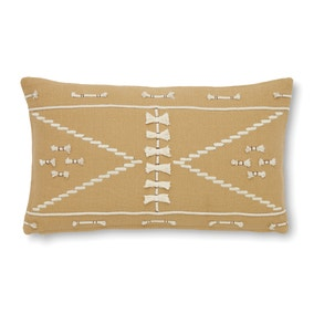 Rope Embroidered Cushion