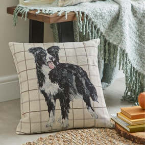 Sheepdog Cushion Tapestry