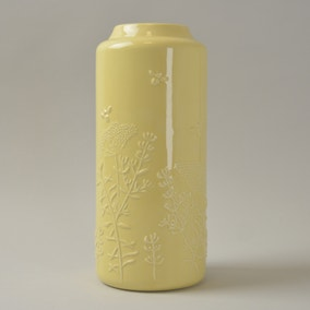 Ceramic Vase with Embossing