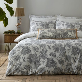 Amazonia Toile Reversible Duvet Cover and Pillowcase Set