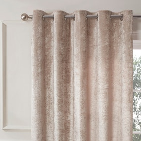 Ashbury Champagne Eyelet Curtains