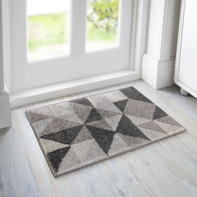 Geo Squares Doormat