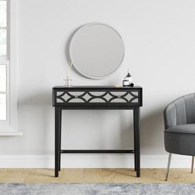 Delphi Black Dressing Table