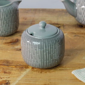 Zen Grey Sugar Bowl