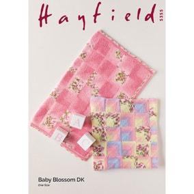 Hayfield 5355 Hayfield Blossom DK Floral Cardigans Leaflet