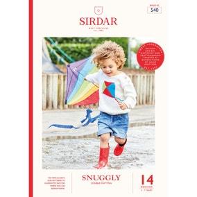 Sirdar 540 Snuggly Brights Knitting Pattern Book
