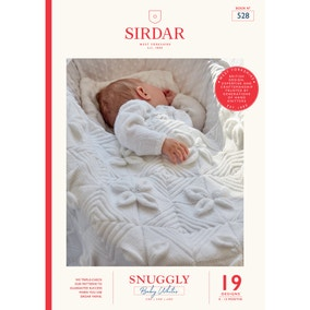 Sirdar 528 Snuggly Classic Whites Knitting Pattern Book