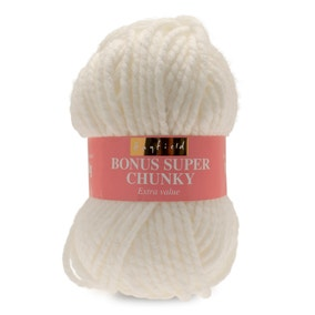 Hayfield Bonus Super Chunky Cream Wool