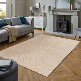 Braided Wool Blend Rug