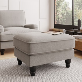 Beatrice Boucle Footstool