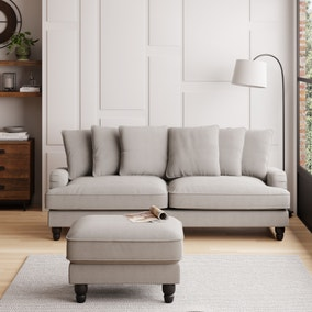 Beatrice Boucle Scatter Back 4 Seater Sofa