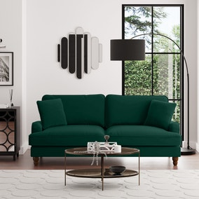 Beatrice Velvet 4 Seater Sofa