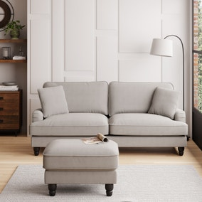 Beatrice Boucle 4 Seater Sofa