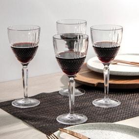 Maxwell & Williams Verona 225ml Wine Glass Set of 4
