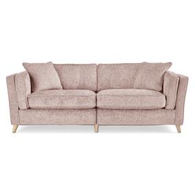 Arabella 4 Seater Sofa Luxury Chenille