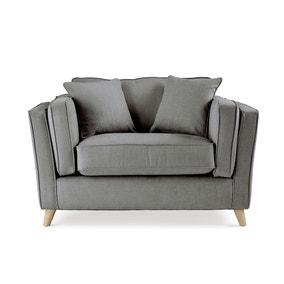 Arabella Snuggle Chair Brushed Plain Fabric