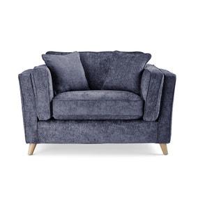 Arabella Snuggle Chair Luxury Chenille