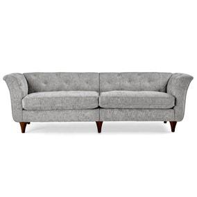 Jaipur 4 Seater Sofa Luxury Chenille